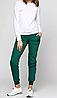 Штаны женские, спортивные, темно зеленые