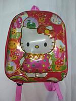 Детский объемный 3Д  рюкзачок Китти для девочки