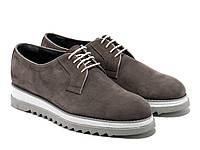 Туфли Etor 13372-03-40136-12 39 серые, фото 1