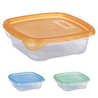 Контейнер пластиковый для пищевых продуктов 700мл квадратный PT-82293