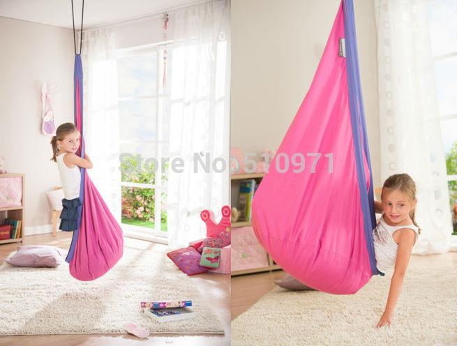 Детская качеля гамак под интерьер