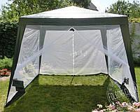 Садовый шатер тент с москитной сеткой и молниями