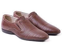 Туфли Etor 11738-7115-325 45 коричневые, фото 1