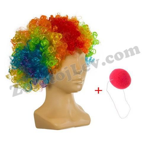 Набор Клоуна парик и нос