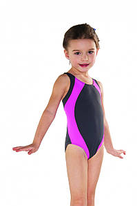 Купальник детский закрытый Shepa 009 (original) цельный, сдельный, слитный для девочки,для бассейна 128