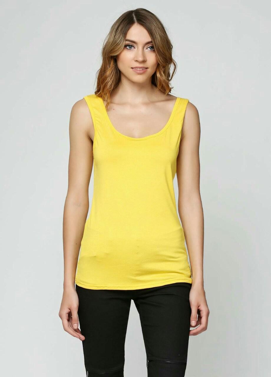Майка жіноча молодіжна, жовта