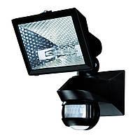 Датчик движения Theben LUXA 102-150/150W с галогенным прожектором, настенный, черный, th 1020962