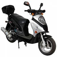 Скутер SP150S-16 Задний багажник, два задних амортизатора, сигнализация