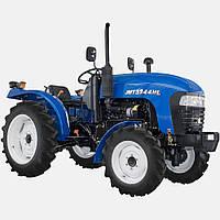 Трактор JINMAJMT3244HL (24л.с., дизель, 4х4, ГУР, КПП (4+1)х2, колеса 6.00-16/9.5-24)