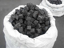 Брусчатка 5х5х5 колотая (черная)Габбро, фото 2