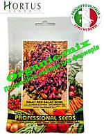 Салат ДУБОВЫЙ ЛИСТ КРАСНЫЙ / RED SALAD BOWL ТМ «Hortus» (Италия), проф. пакет 50 грамм