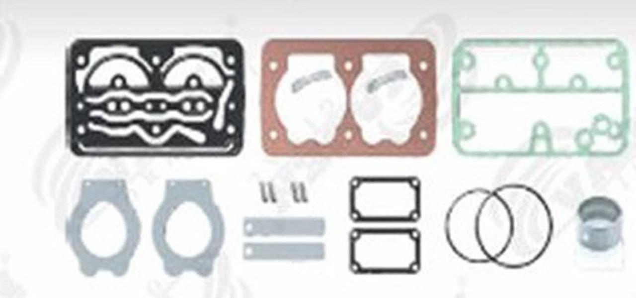 Ремкомплект прокладок с клапанами KNORR, VOLVO FH12,FH16,FM,FM7,FM12,B10 (стр. каталога 2012г. 182) (8113633 |