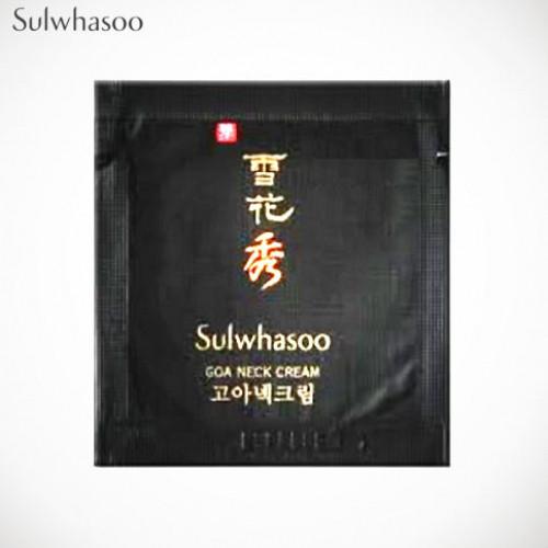 Sulwhasoo Крем для шеи и декольте Пробник Goa Neck Cream 1ml