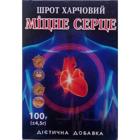 """Шрот """"Крепкое сердце"""", 100г"""