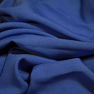 Ткань габардин синий электрик