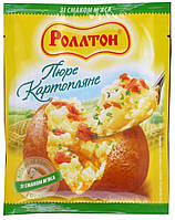 Ролтон Пюре картопляне зі смаком м'яса пакет 37 г