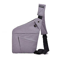 Cross Body Bag 2 БЕЛАЯ (светло-серая) Сумка-мессенджер