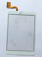 Оригинальный тачскрин / сенсор (сенсорное стекло) BB-Mobile Techno 7.85 3G Slim TM859N (белый, самоклейка)