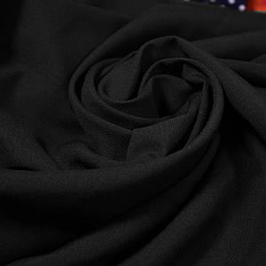 Ткань габардин черный