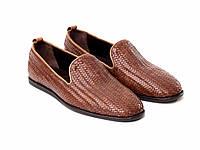 Туфли Etor 14224-7337 41 коричневые, фото 1