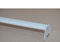Перемычка в рейку овальная белая 0.90 м.