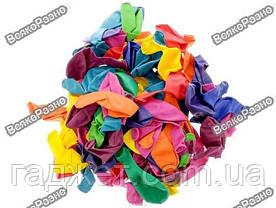Набор воздушных шариков 25 см 50 шт, цвет разноцветный, фото 3