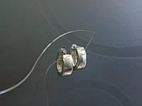 Серебряные серьги с 24, фото 1