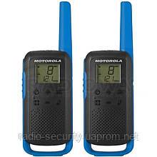 Рация портативная Motorola TLKR T62  red / blue (пара)