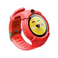 Детские телефон-часы с GPS трекером UWatch Q610 красный