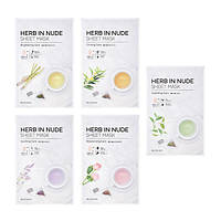 Маска для лица - Missha Herb In Nude Sheet Mask  #Soothing - M8574