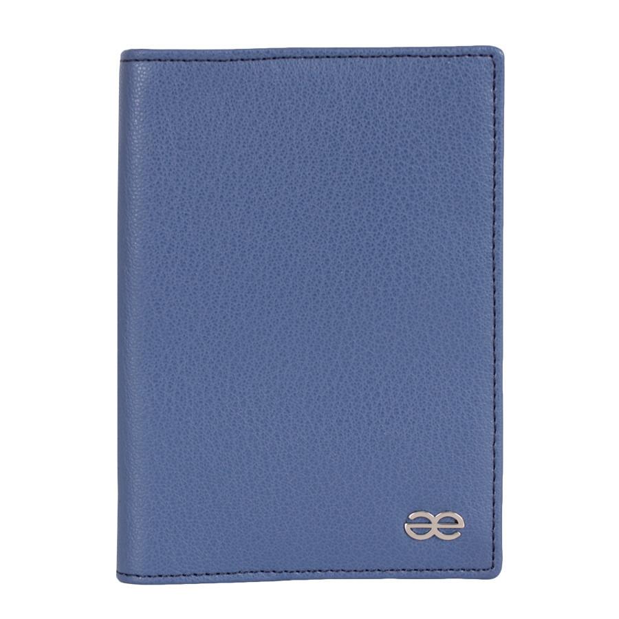 Обкладинка для паспорта Синя
