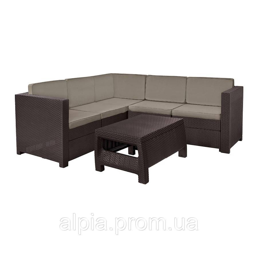 Набор мебели Keter Provence Set коричневый