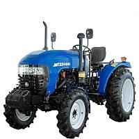 Трактор JINMAJMT3244HХ (24л.с.,  4х4, ГУР, КПП (4+1)х2х2, колеса 6.50-16/11.22-24, 2-диск.сцепление)