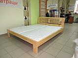 Дерев'яне ліжко Каприз, фото 3