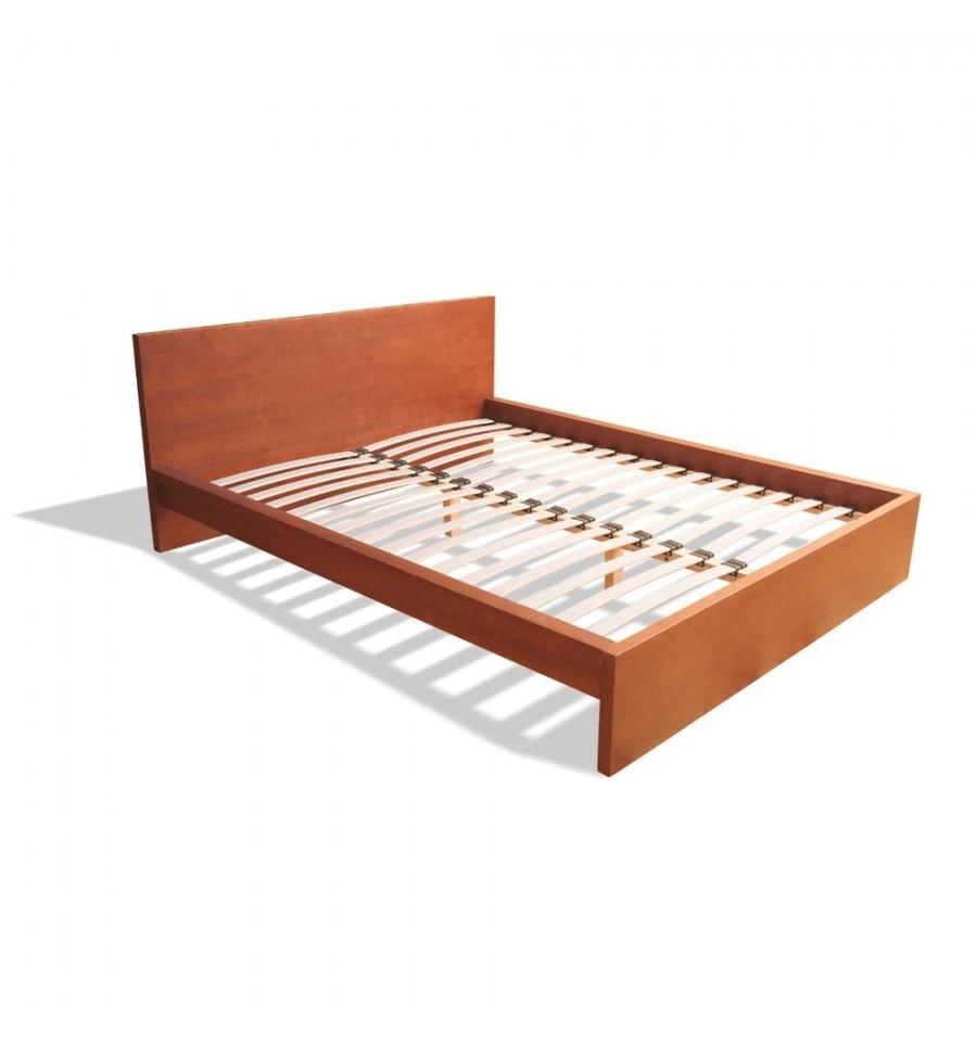 Деревянная кровать Пифагор