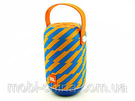 JBL tg107 t&g 5W, портативная колонка с Bluetooth FM MP3, Zap желтая с синим, фото 2