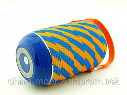JBL tg107 t&g 5W, портативная колонка с Bluetooth FM MP3, Zap желтая с синим, фото 3