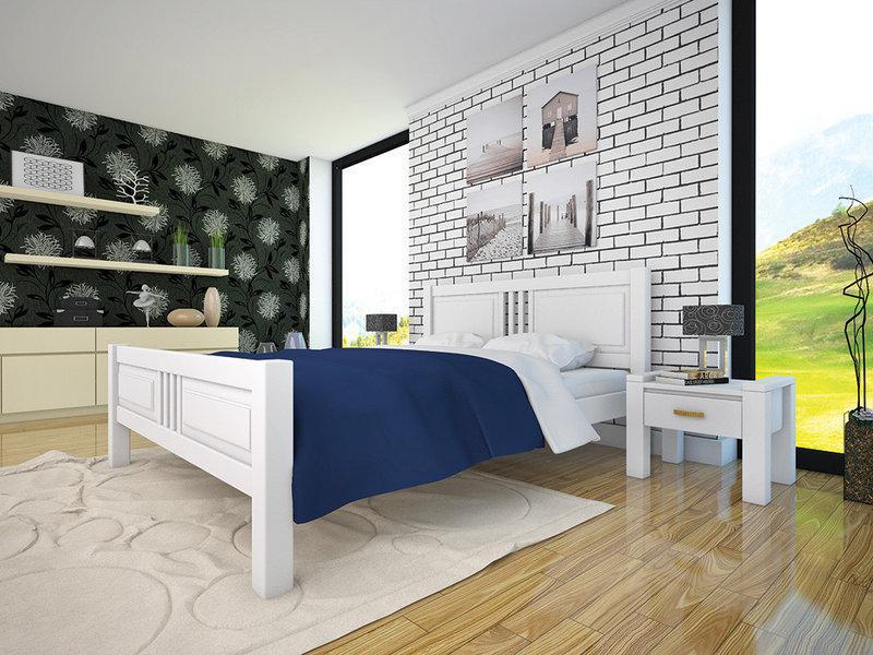 Деревянная кровать Модерн-8
