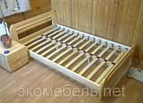 Дерев'яне ліжко Комфорт, фото 3