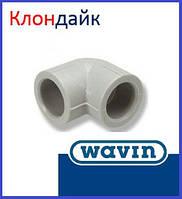 Угол соединительный Wavin 32х90