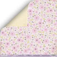 Бумага для скрапбукинга Daddy's Princess, Розовые мечты, 30х30 см