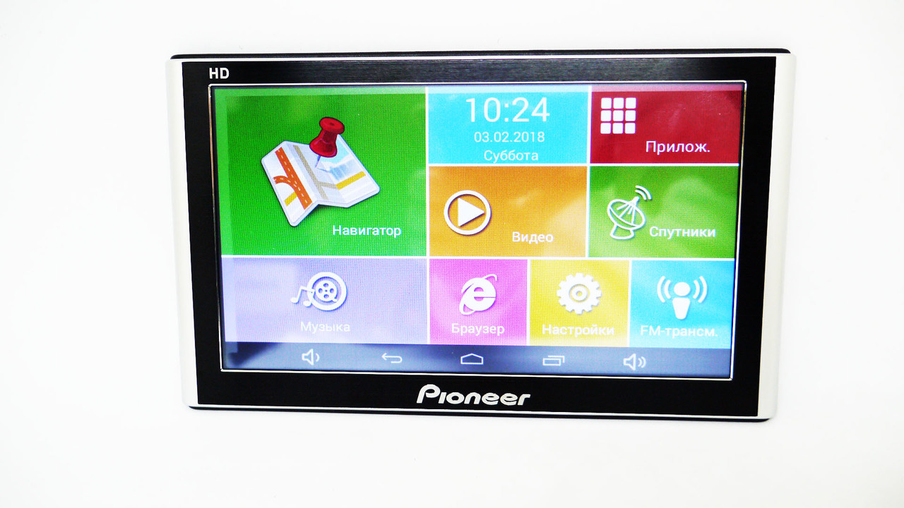 GPS навигатор 7 дюймов Android 4 Ядра 8GB 7002