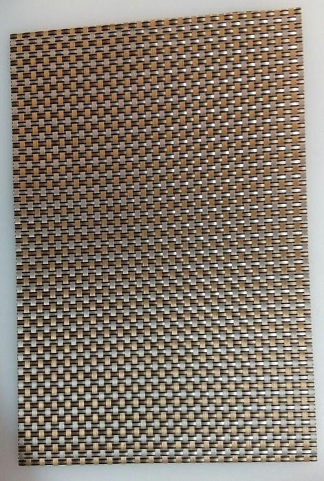 Коврик для сервировки стола серебро - золотистого цвета 450*300 мм (шт)