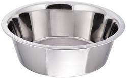 Миска нержавеющая круглая с плоским дном V 800 мл Ø 160 мм