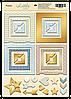 Рамки из чипборда с фольгированием (золото) Little Bear, 30 шт