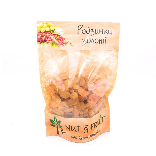 Сухофрукти Nut&Fruit - Ізюм золотий 150 грам
