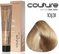 Краска для волос VINTAGE ESTEL HAUTE COUTURE  для закрашивания седины, 60 мл 10/31 Светлый блондин золотисто-пепельный