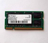 316 Память 512 MB DDR1 DDR333 PC2700 Infineon SO-DIMM для ноутбуков Intel/AMD