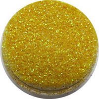 Песок для дизайна ногтей Желтое золото .