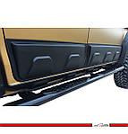 Isuzu D-Max 2011↗ гг. Молдинг на двери (4 шт, ABS)